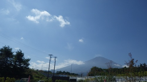 道の駅すばしり 富士山