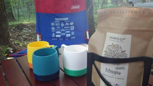村営山中湖キャンプ場 コーヒー