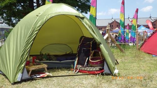女子ソロキャンプ