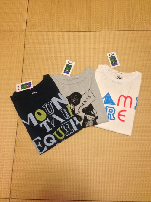 ランドネピクニック2013 戦利品 MEIのTシャツを購入