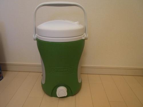 コールマンファミリーセール2012 戦利品 ジャグ 1ガロン(グリーン)
