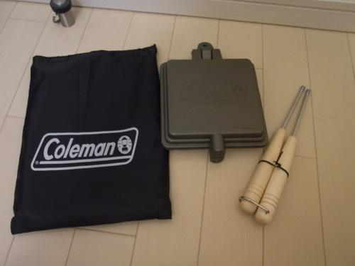 コールマンファミリーセール2012 戦利品 ホットサンドイッチクッカー