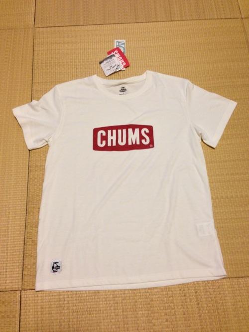 CHUMS(チャムス) 吸水速乾ロゴTシャツ