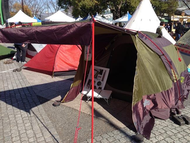 ロゴスの新しいテント