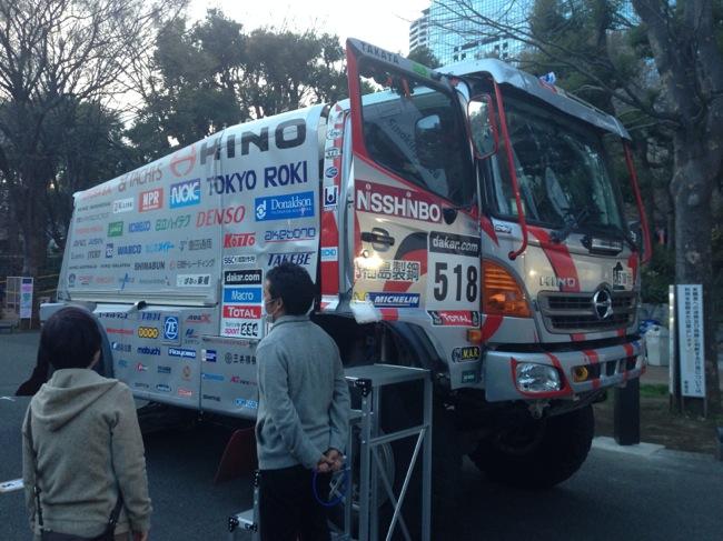 TOKYO outside Festival HINO車