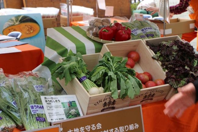 アースデイ東京/Earth Day Tokyo 2014に行ってきました野菜