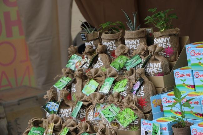 アースデイ東京/Earth Day Tokyo 2014に行ってきました鉢植え