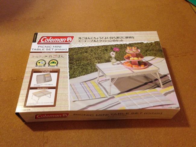 コールマンファミリーセール2015 戦利品 ピクニックミニテーブルセット