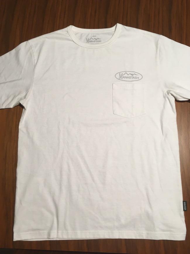 マナスタッシュCOOL MAX Reflect Tシャツ